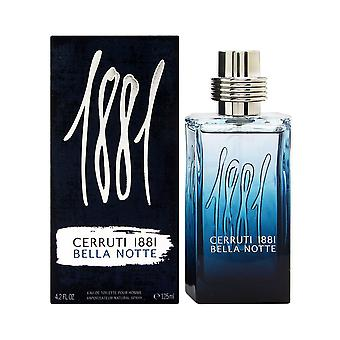Cerruti 1881 Bella Notte Eau de Toilette 125ml EDT Spray