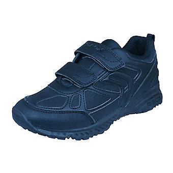 Geox J Bernie B Boys zapatillas / zapatos - negro