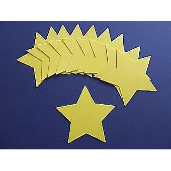 10 Yellow Star Card Shapes - Wand Crafts for Kids | Wand Making for Kids