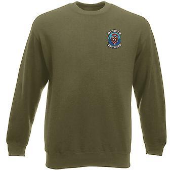 USMC Marines HMH-361 Flying Tigers ricamato Logo - Heavyweight Sweatshirt