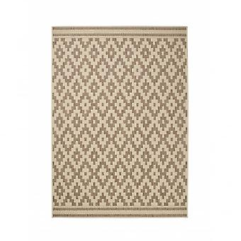 Boutique Camping Cottage Rug - Natural/Brown