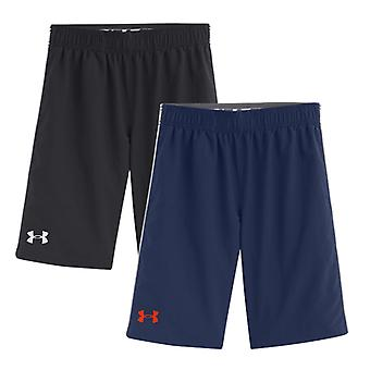 Under Armour Training Junior HeatGear Edge Woven Shorts Youth X Large Black