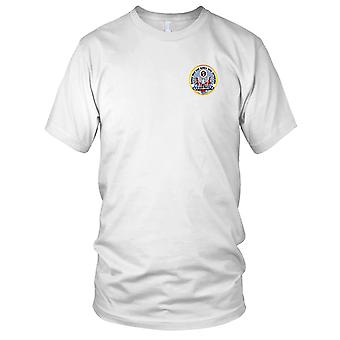 US Army - Korea War And Korea DMZ Veterans Association Embroidered Patch - Mens T Shirt