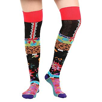 Jarretelle women's crazy cotton over-the-knee socks | By Dub & Drino
