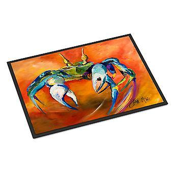 Carolines Treasures  JMK1110MAT Blue Crab Indoor or Outdoor Mat 18x27