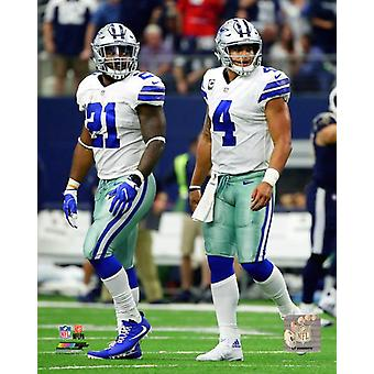Dak Prescott & Ezekiel Elliott 2017 Photo Print
