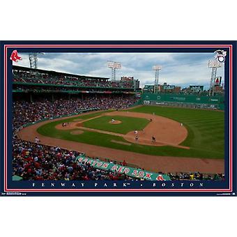 Boston Red Sox - Fenway Park 2015 affisch affisch Skriv
