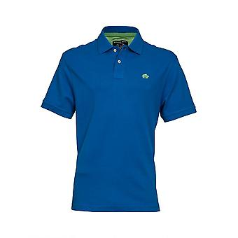 Signature Polo Shirt - Cobalt Blue