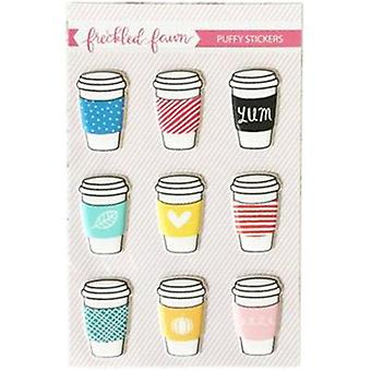 Freckled Fawn Puffy Stickers-Drink Cups NOVPS