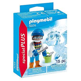Playmobil Special Plus ijs beeldhouwer 5374