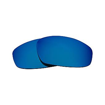 Best SEEK Polarized Replacement Lenses for Oakley SPLIT JACKET Purple Blue