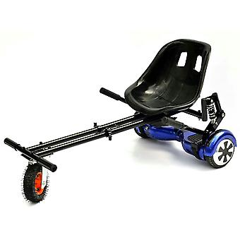 The Official Carbon Black GoMonster Suspension HoverKart