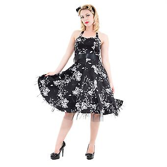 H&R London Floral Halterneck Long Dress