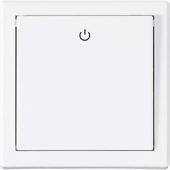 RSL Wireless switch Recess-mount 1-channel Switching capacity (max.) 2000 W Max. range (open field) 70 m