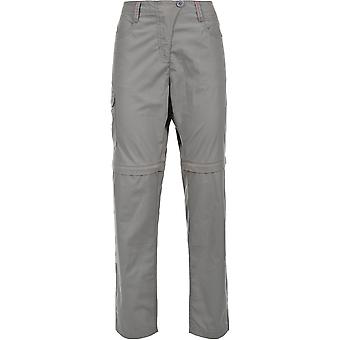 Trespass Womens/Ladies Rambler Polycotton Zip Off Convertible Trousers