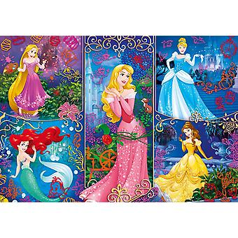 Disney Princess 3D Vision Jigsaw Puzzle (104 Pieces)