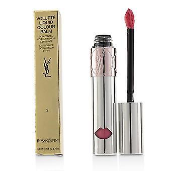 Yves Saint Laurent Volupte flydende farve Balm - # 2 udsætte mig Rose - 6ml/0,2 ounce