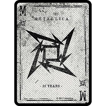 Metallica Patch Dealer Band Logo new Official woven sew on