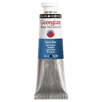 Daler Rowney Georgian agua Mixable aceite color 37ml - Sevres azul
