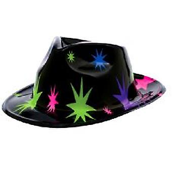 Sombrero de vaquero de plástico estrella