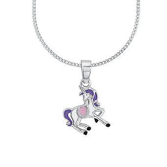 Princess Lillifee child kids necklace silver unicorn Rosalie 2013150