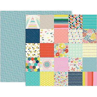 Paige Evans Turn The Page Double-Sided Cardstock 12