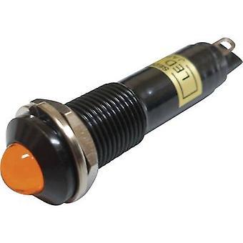 LED indicator light Orange 12 Vdc