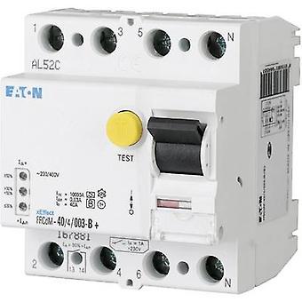 Eaton 167893 Jordfelsbrytare (AC/DC känslig) 4-pin 40 A 0,03 A 240 V, 415 V