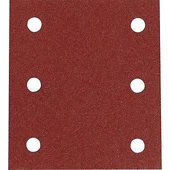 Sander paper Hook-and-loop-backed Grit size 120 (L x W) 102 mm