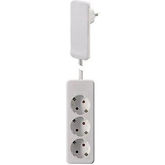 NVB 104566 Socket strip (w/o switch) White CEE plug