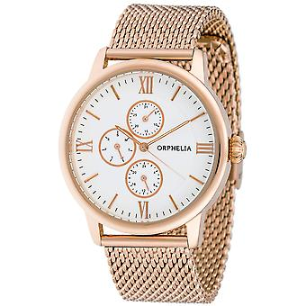 ORPHELIA Mens Multi Dial Watch Executive Rose Gold Stainless steel 122-9707-17