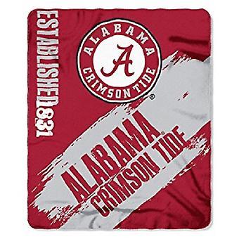 Alabama Crimson Tide NCAA Northwest Fleece Throw