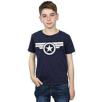 Marvel Boys Captain America Super Soldier T-Shirt
