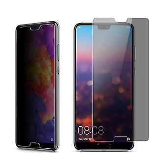 Huawei P20 look protective tank protection glass anti-spy film 9 H - 5 units