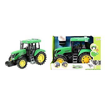 Toi Toys Tractor DeLuxe groen met L/G