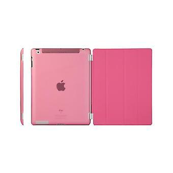 Custodia/Cover, iPad (2017) / iPad Air + shell plastica dura colore rosa caldo