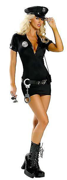Waooh 69 - Costume Sexy De Policière Justice