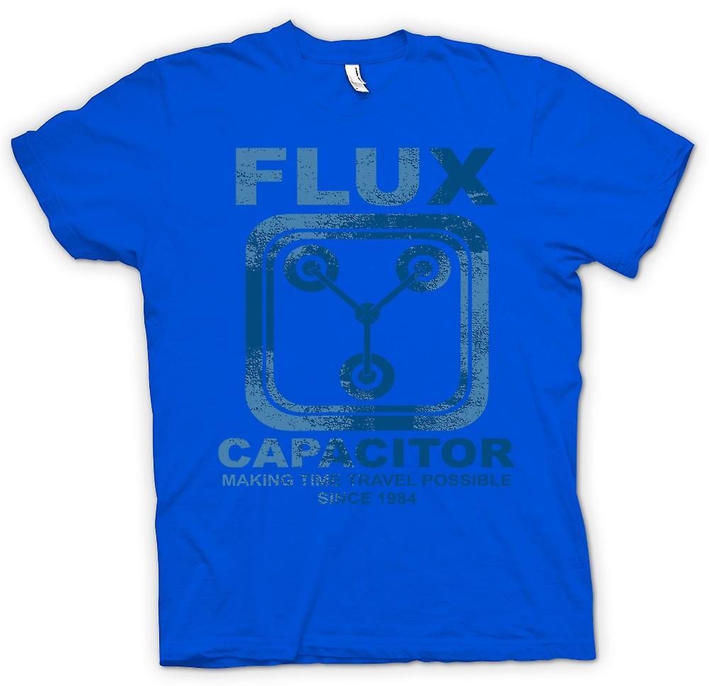 Mens t-skjorte - Flux kondensator - gjør tidsreiser mulig