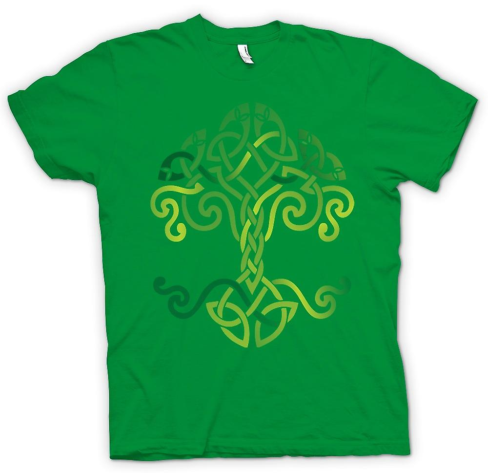 Mens T-shirt - Celtic Tribal Tree Of Life Symbol