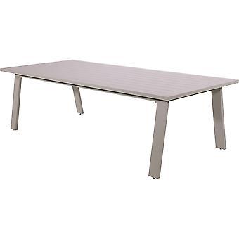 Outdoor Living lounge dining tafel Malibu 240x105x70,5 cm - cappuccino
