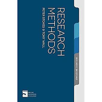 Metody badawcze (Palgrave Business Briefing)