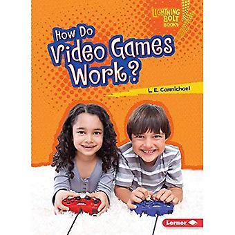 Hur fungerar videospel? (Lightning Bolt böcker vår digitala värld)