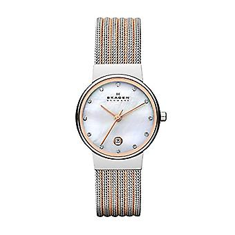 Skagen women's Watch with metal plated stainless steel 355SSRS