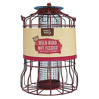 Natures Market BF007 Squirrel Guard Nut Wild Bird Feeder