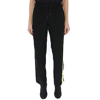 Kenzo Yellow/black Cotton Pants