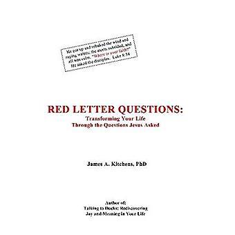 Perguntas de letra vermelha por cozinhas & James