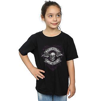 Aveneged Sevenfold Girls Deathbat Flourish T-Shirt