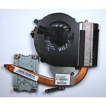 Compaq Presario CQ43-174LA Independent Graphics Version Compatible Laptop Fan With Heatsink For Intel Pentium Processors