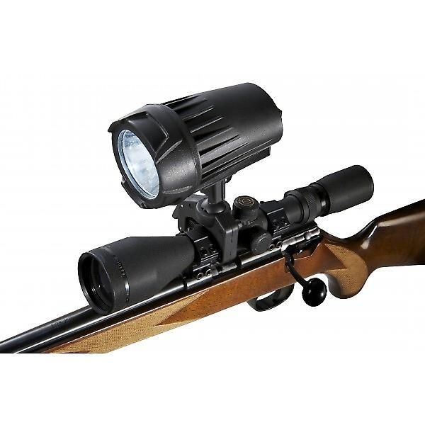 Clulite Interceptor Rechargeable gun light - 300m LED beam