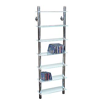 Matrix - Wand Glas 266 Cd / Media 7 Tier Ablagen - klar